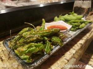 Shishito peppers and Edamame at SoHo Japanese Restaurant (Las Vegas, NV)preset